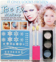 Winter Snow Flake Make Up Kit