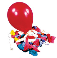 Balloon 12in Asst Colors 72 Ct