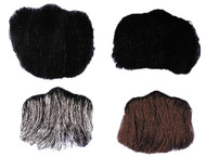 Goatee 3 Pt Black Human Hair