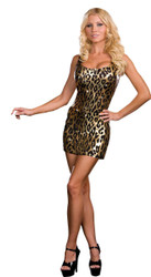 Leopard Dress Adult Large