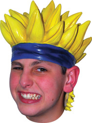 Wig Anime 7 Latex Yellow