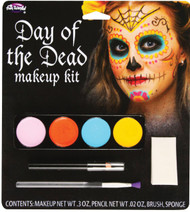 Day Of The Dead M/u Kit Female