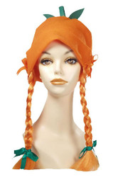 Pumpkin Girl Hat Orange