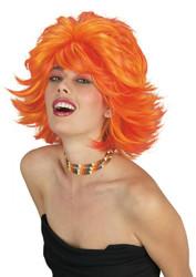 Choppy Wig Red Orange
