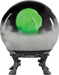 Crystal Ball W/phantom Skull-b