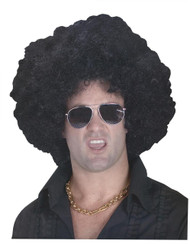 Wig High Afro Black