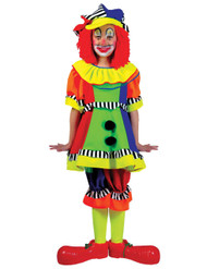 Spanky Stripes Clown Sml Child