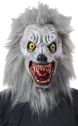 Albino Werewolf Mask Realistic