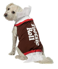 Tootsie Roll Dog Costume Large
