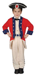 Colonial Soldier Child 8 To 10