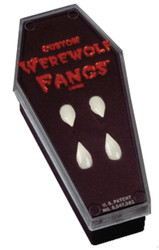 Fangs Werewolf In Coffin