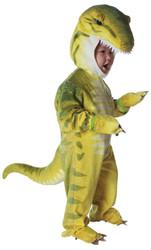 T Rex Green Toddler 2-4