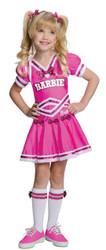 Barbie Cheerleader Child Mediu