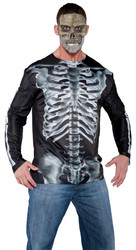 Photo Real Shirt X-ray Adult