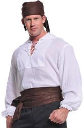 Pirate Shirt Cream Ad One Sz