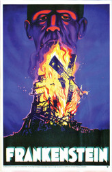 Frankenstein Poster Cling