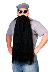 Mohair 25 Inch Black Beard