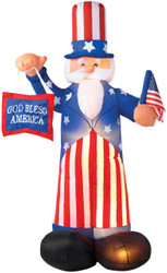 Uncle Sam Airblown 6 Feet Tall