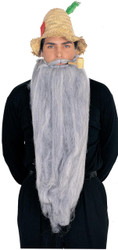 Mohair 25 Inch Grey Beard