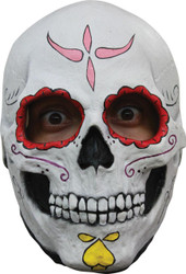 Catrina Skull Latex Mask
