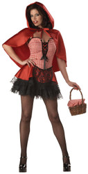 Red Hot Riding Hood Adlt Lg