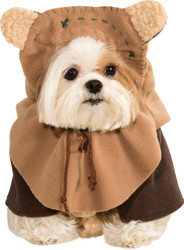 Pet Costume Ewok Medium
