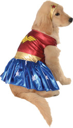 Pet Costume Wonder Woman Md