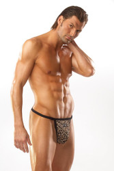 Thong Leopard Small
