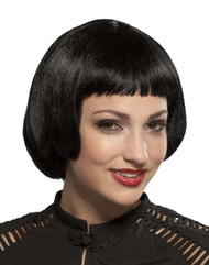 Wig Flapper Sassy Black