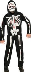 Skeleton Child Costume Large
