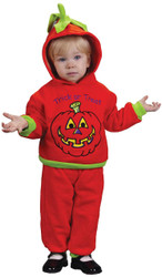Hooded Pumpkin 2pc 18 24 Mo