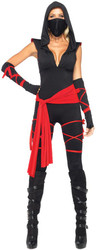 Deadly Ninja Adult Large