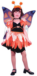Butterfly Costume Child Lrg