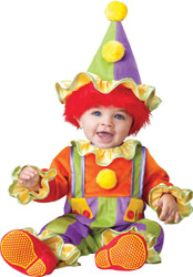 Cuddly Clown Toddler 12-18