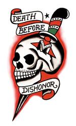 Tattoo Vintage D B D  Skull