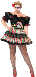 Day Of The Dead Doll Adult Xxl