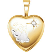 Angel Heart Locket