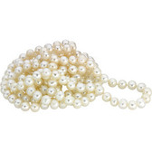 "Pearl White 72"" Inch Pearl Strand Necklace"