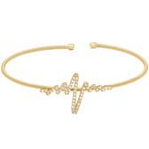 Heartbeat Cuff Bracelet