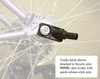 Medium Steel Frame HoundAbout Classic Pet Bicycle Trailer bike attachment