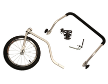 HoundAbout Stroller Kit attaches to our Houndabout Bike Trailers (trailers not included)