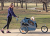 Large HoundAbout Stroller Kit installed on the large Houndabout Trailer (sold separately)