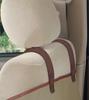 Deluxe Sta-Put Hammock Car Seat Cover headrest straps