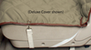 Cinch straps on corners of Deluxe Sta-Put Hammock Car Seat Cover  for custom adjustments