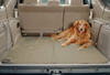 Hook and loop fasteners allow the Waterproof Sta-Put SUV Cargo Liner to remain in place without sliding
