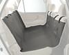 Waterproof Sta-Put Hammock Seat Cover showing storage pockets in grey