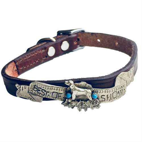 Best of Show Custom Made Small Dog Collar