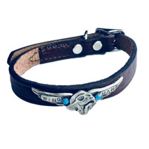 """Wing Man"" Custom Made Dog Collar"
