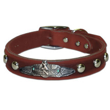"""Happy Camper"" Custom Made Dog Collar"