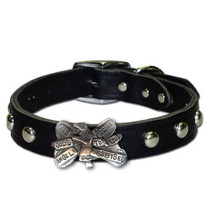"""All God's Angels"" Custom Made Dog Collar"